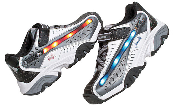 star wars lightsaber shoes