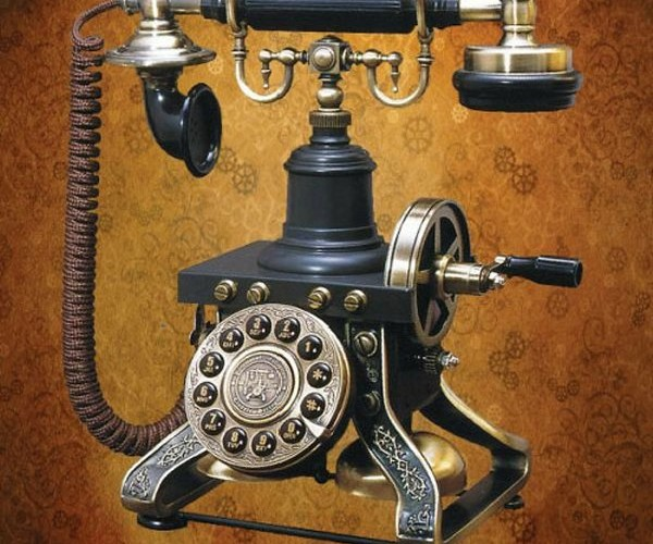 Steampunk Telephone: 1890 Called, They Want Their Phone Back
