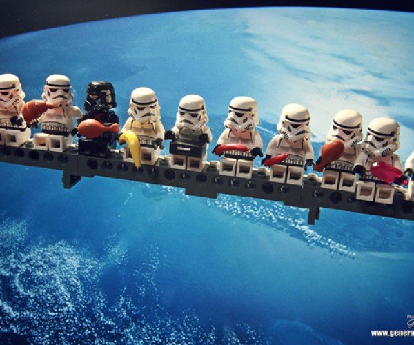 Stormtroopers Take a Well-Deserved Break