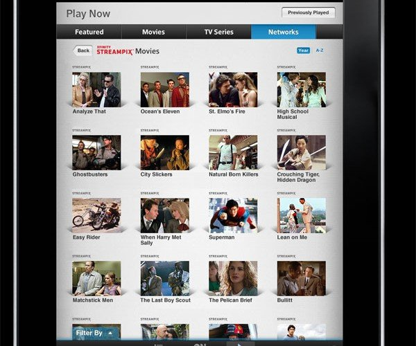 Comcast Streampix Takes Aim at Netflix