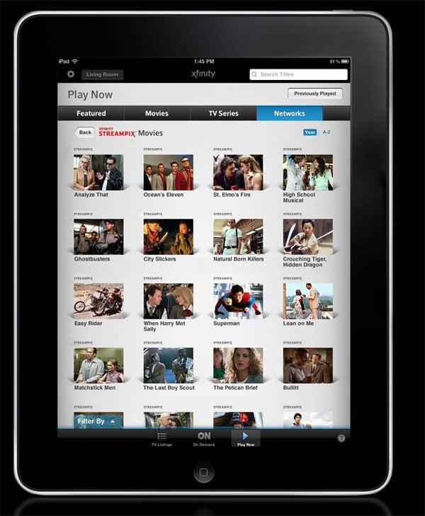 Comcast Streampix Takes Aim at Netflix