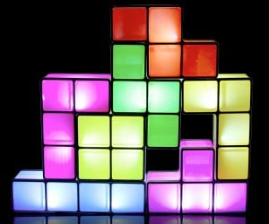 Tetris Desk Lamp: You Light up My Life