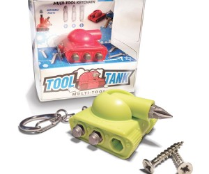 Tool Tank Fires Screw Bits, Not Rockets