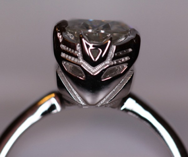 Transformers Engagement Ring: Geekery Undisguised