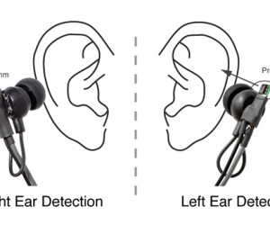 Universal Earphones Know When They're in the Wrong Ear, Switches Channels Automatically