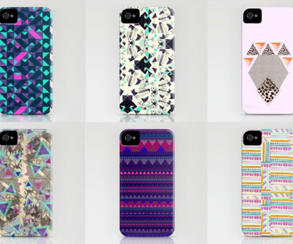 Vasare Nar iPhone and iPad Cases: Geometry Wars
