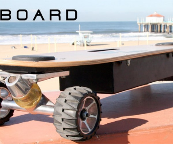ZBoard Motorized Skateboard: Lean to Drive