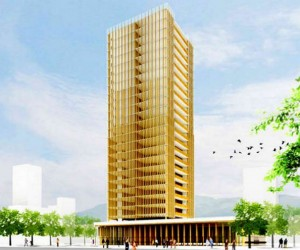 Canada's 30-Story Wooden Skyscraper: Let's Hope It Doesn't Get Termites