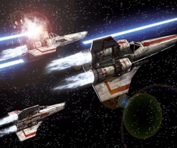 Kids Building a Battlestar Galactica Viper Flight Simulator