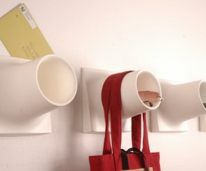 Cubby: It's a Coat Hook and a Storage Caddy