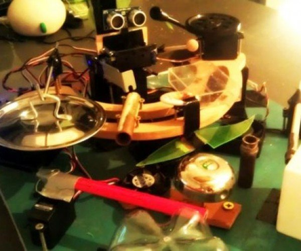 Arduino Controlled Drummerbot Lays Down the Beat