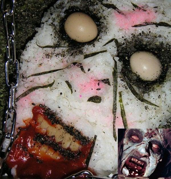 Evil Dead Undead Cheryl In The Cellar Bento Box