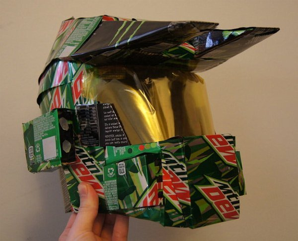 Halo Mountain dew Helmet