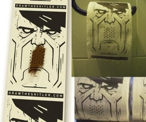 Hitler Toilet Paper: Now You Can Smear Poop on a Dictator's Face Every Day