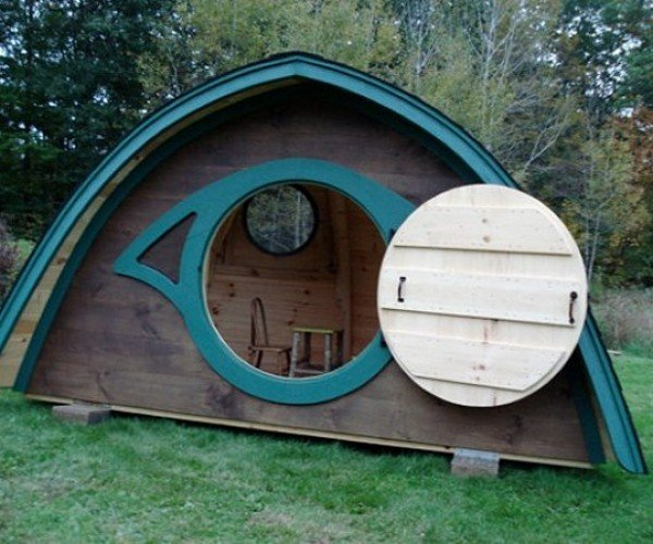 Hobbit Hole Playhouse is Not Really a Hole, Barely a House