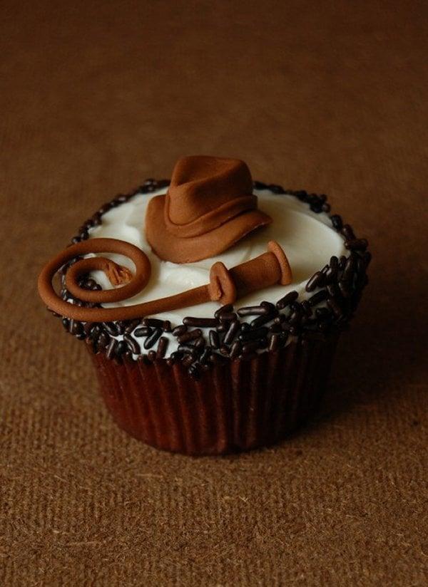 Indy cupcake