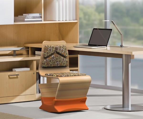 Osca Task Chair Encourages Chair Fidgeters