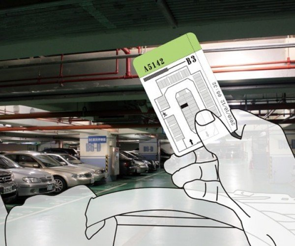 Parking Guide Chooses Your Parking Space for You