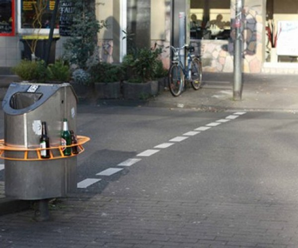 Pfandring Makes Recycling Bottles Easier and More Appealing