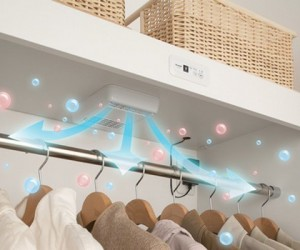 Plasmacluster Gets Rid of the Stink in Your Closet with Ion Power