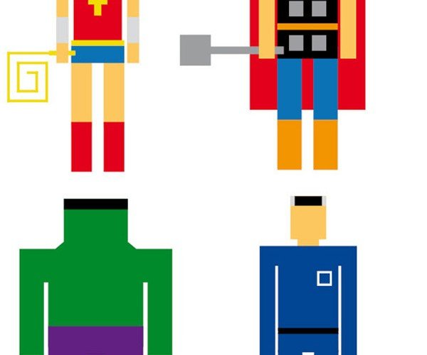 Geometric Superheroes: Rectangles, Assemble!