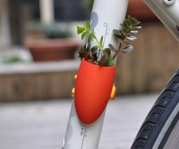 Bike Planters: A Little Green Goes a Long Way