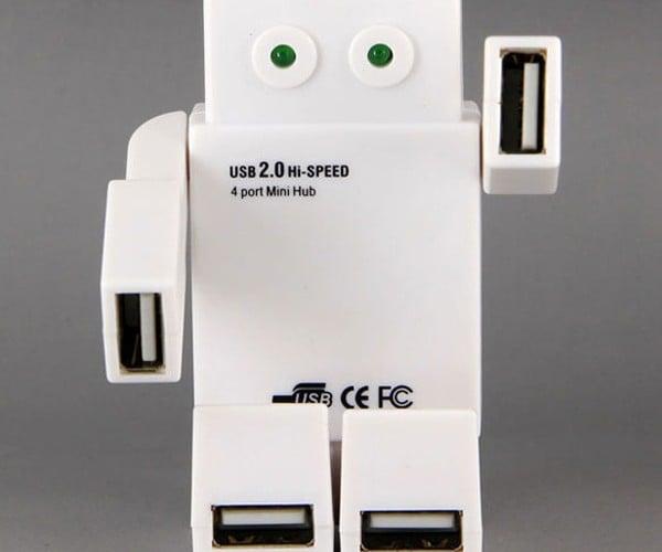 Robot USB Hub: No Transformer But Still Cooler than Yours