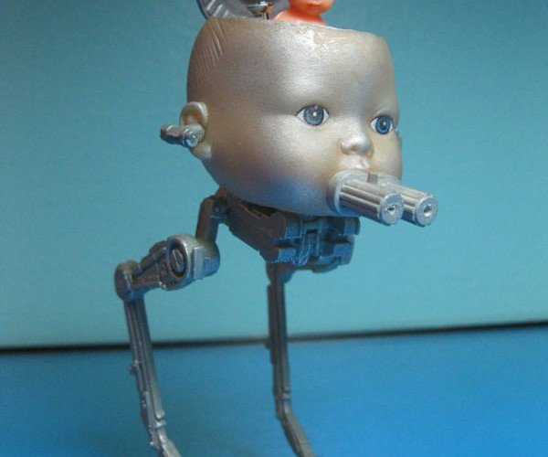 Star Wars Figures Made from Doll Parts: More Freaky Than Mos Eisley Cantina