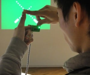 Ubi-Camera Lets You Take Pictures With Your Fingertips