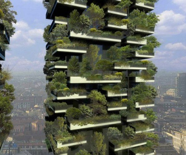 World's First Vertical Forest Takes Off