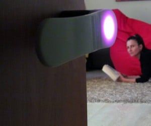 Zento Luminous LED Door Handle Lights the Way Out