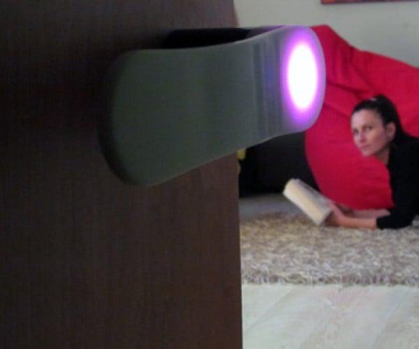 Zento Luminous LED Door Handle Lights the Way Out