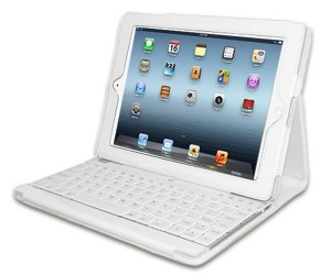 Adesso Compagno 3 Keyboard Case Perfect for White iPads