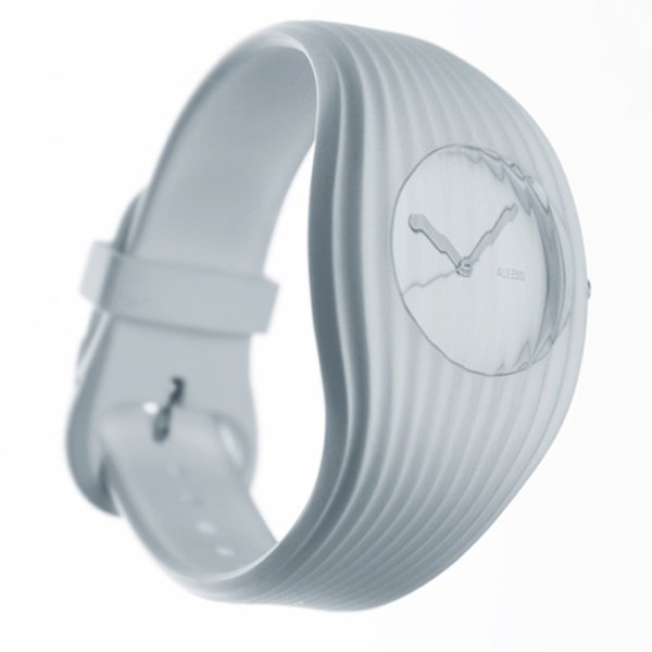 alessi grow shiro studio watch white