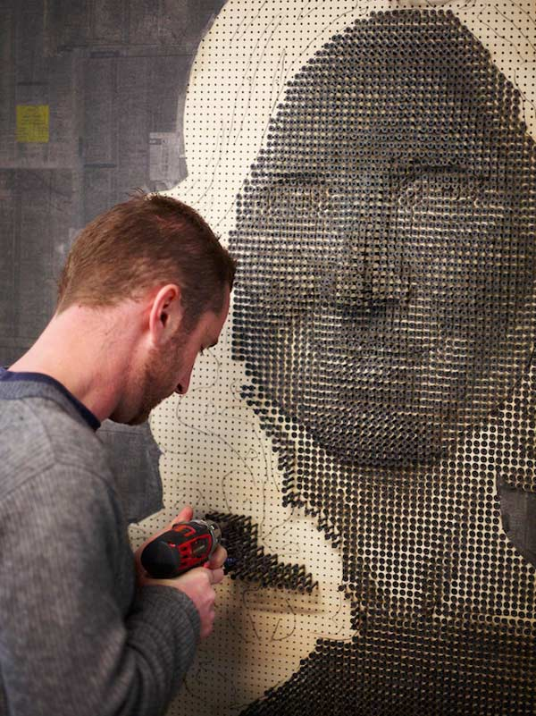 andrew myers 3d screw portrait screwing in