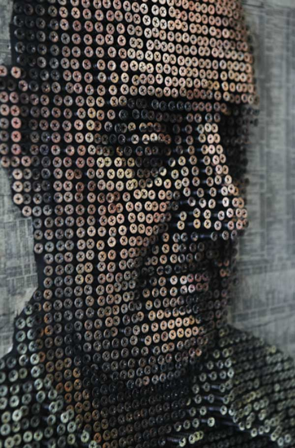 Andrew Myers 3d Screw Portraits No 3d Glasses Needed