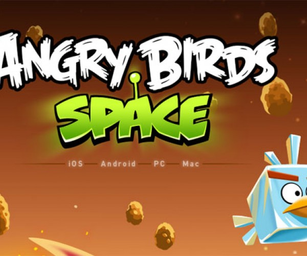 Angry Birds in SPAAAACE (Really)