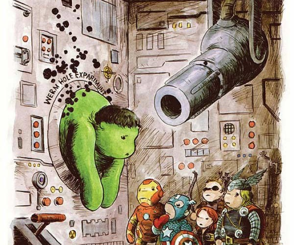 The Avengers, Winnie the Pooh-Style