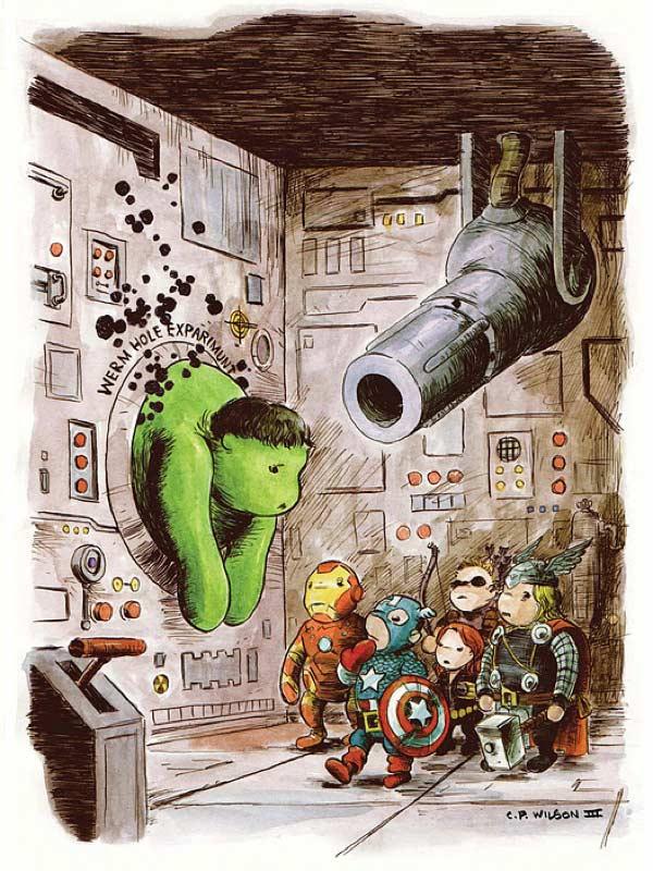 avengers winnie the pooh charles paul wilson iii