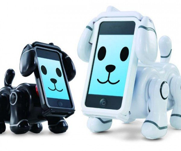 "Bandai ""SmartPet"" iPhone Robot Dogs Never Need to Go Walkies"