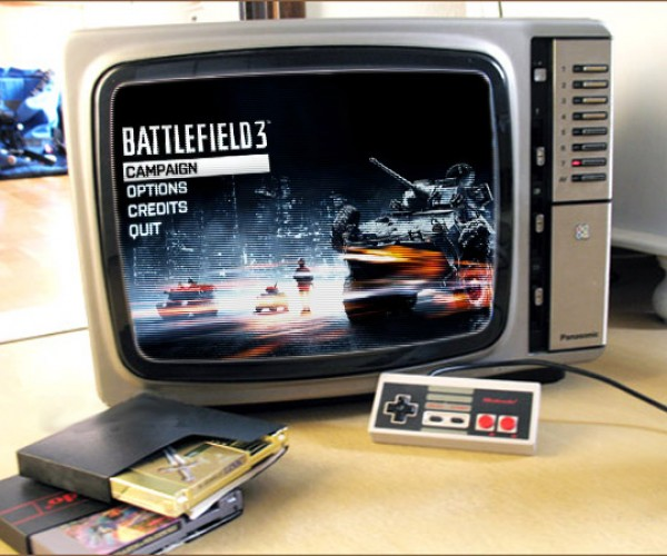 Battlefield 3: NES Edition