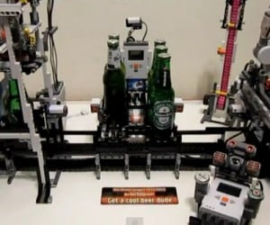LEGO Beer Machine Opens and Cools Beer, Warms Our Hearts