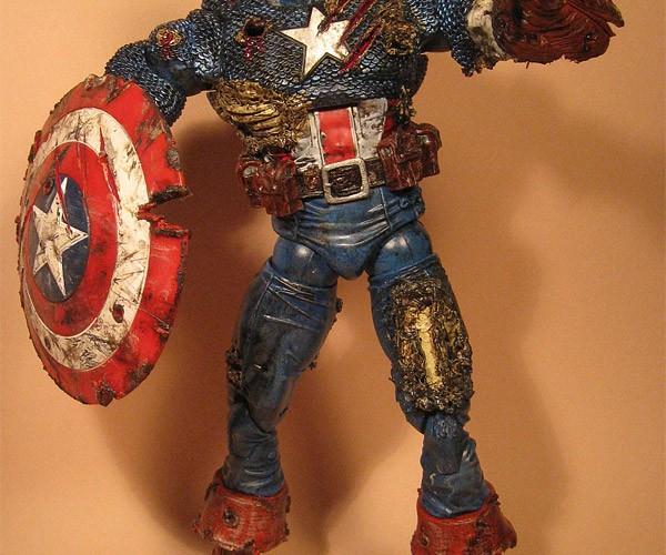 Zombie Captain America: Steve Rogers Needs Braaaaaains