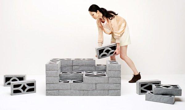 concrete cushions