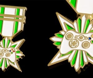 Console Wars Veteran Pins: for Achievements in the Field of Gaming