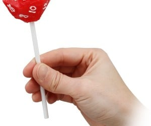 D20 Lollipop: Roll It Around Your Mouth