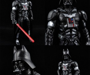 Darth Knight Custom Action Figure Fights for Good and Evil
