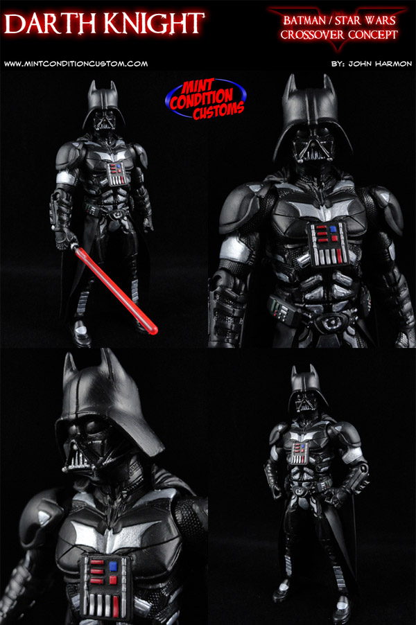 darth knight custom figurine