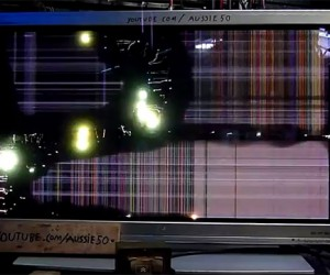 High-Voltage Plasma TV Burnout Is Spectactular, Dangerous