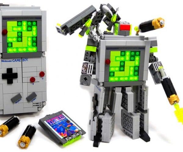 LEGO + Transformer + Game Boy: A 1980s Three-fer